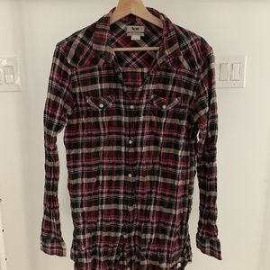 Acne Plaid Tunic EU 40